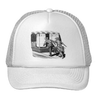 Vintage Kitsch Consumer Overconsumption Fridge Ad Trucker Hat