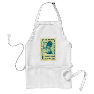 vintage Kitsch CPR Mouth to Mouth Czech Matchbook Adult Apron