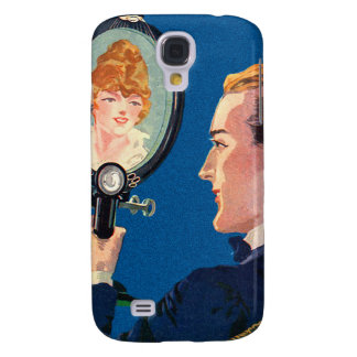 Vintage Kitsch Early Television Smart Phone TV Set Samsung Galaxy S4 Case