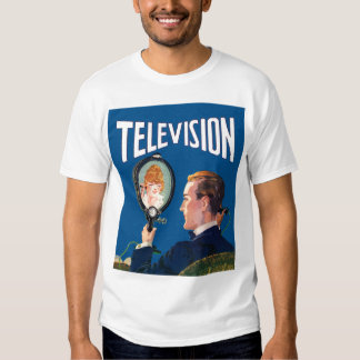 Vintage Kitsch Early Television Smart Phone TV Set T-shirt