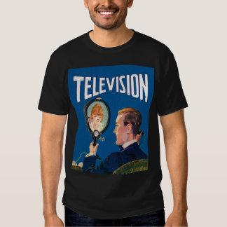 Vintage Kitsch Early Television Smart Phone TV Set Tshirts