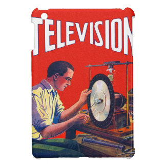 Vintage Kitsch Early TelevisionTechnology TV Set iPad Mini Covers