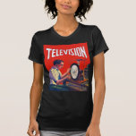 Vintage Kitsch Early TelevisionTechnology TV Set Shirts