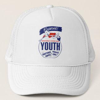 Vintage Kitsch Exposed Tattered! Shattered! Trucker Hat