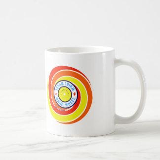Vintage Kitsch Firework Label Whirl Wheel Coffee Mug