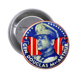 Vintage Kitsch General Douglas MacArthur Button