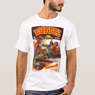 Vintage Kitsch German Western Cowboy Buffel T-Shirt