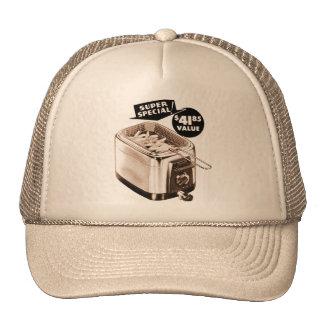 Vintage Kitsch Graphics Deep Fryer Deep Fried Ad Trucker Hat