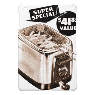 Vintage Kitsch Graphics Deep Fryer Deep Fried Ad iPad Mini Cases