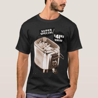 Vintage Kitsch Graphics Deep Fryer Deep Fried Ad T-Shirt