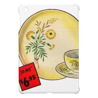 Vintage Kitsch Graphics Dishes Dinnerware Ad iPad Mini Cases