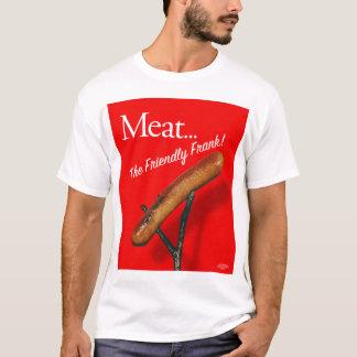 Vintage Kitsch Hot Dog 'Meat The Frankfurter' T-Shirt