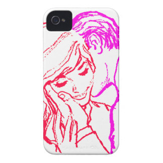Vintage Kitsch Marriage Romance 60s Couple iPhone 4 Covers