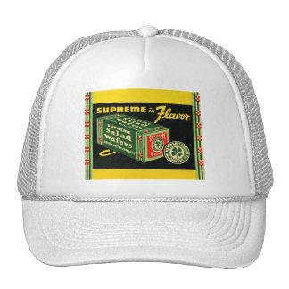Vintage Kitsch Matchbook Art Supreme Wafers Trucker Hat