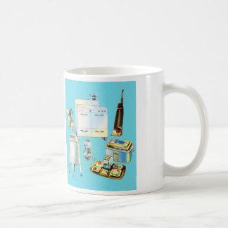 Vintage Kitsch Modern Household Appliances Coffee Mug