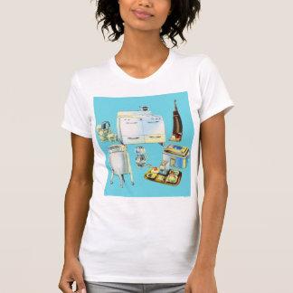 Vintage Kitsch Modern Household Appliances Shirts
