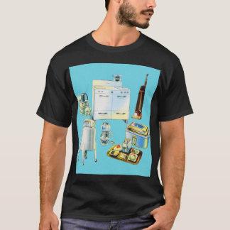 Vintage Kitsch Modern Household Appliances T-Shirt