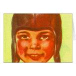 Vintage Kitsch Pulp Football Leatherette Helmet