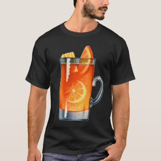Vintage Kitsch Retro Cocktail Whisky Punch Drink T-Shirt