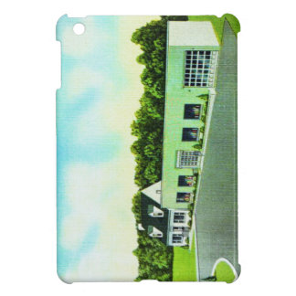 Vintage Kitsch Retro Postcard The Green Building Case For The iPad Mini
