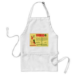 Vintage Kitsch Rock and Roll Dance Dutch 50s Card Adult Apron