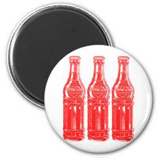 Vintage Kitsch Soda Pop Bottle Wine Dip Magnet