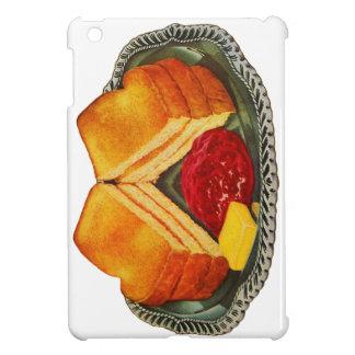 Vintage Kitsch Toast, Butter and Jam Advertisement iPad Mini Case