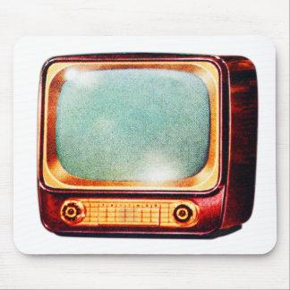 Vintage Kitsch TV Old Television Set Mouse Pad