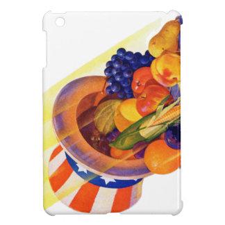 Vintage Kitsch Uncle Sam Fruit of Plenty Art Case For The iPad Mini