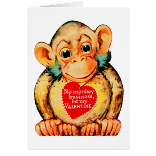 Happy Valentines Day Lil Monkey! Free Family eCards
