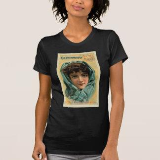 Vintage Kitsch Victorian Glenwood Stove Trade Card Shirt