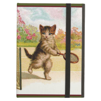 Vintage kittens Playing Cat Tennis Cover For iPad Air