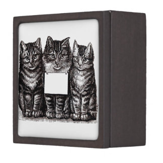 Vintage Kittens Premium Gift Box