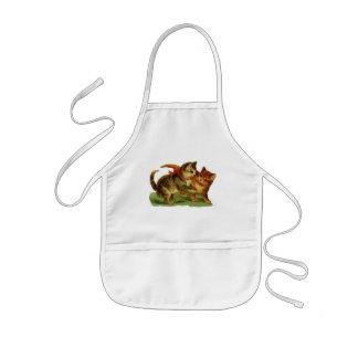 Vintage Kitties apron