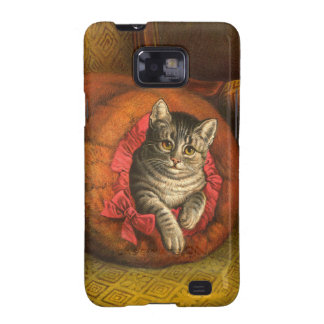 Vintage Kitty Cat Samsung Galaxy SII Case