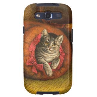 Vintage Kitty Cat Samsung Galaxy S3 Case