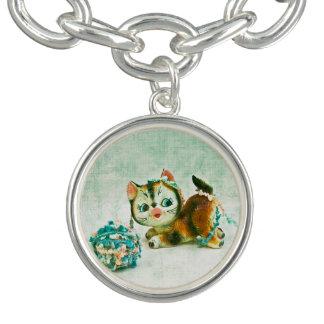 Vintage Kitty Cat Bracelets