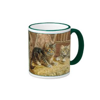 Vintage Kitty Cats - Victorian Art Mugs
