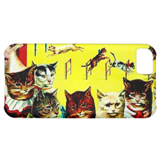 Vintage Kitty Cats Victorian Postcard Iphone Case