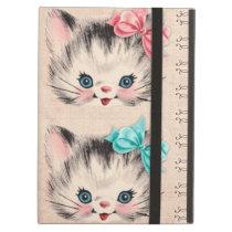 Vintage Kitty iPad Case