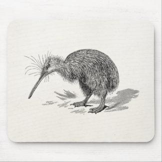 Vintage Kiwi Bird Antique Birds Template Mouse Pads