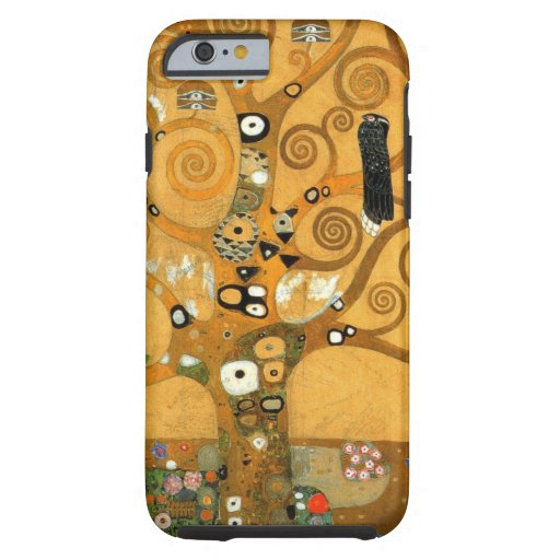 "Vintage Klimt ""Tree of Life"" iPhone 6 case"