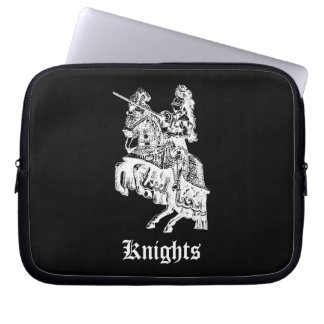 Vintage Knight Illustration Lap Top Sleeve