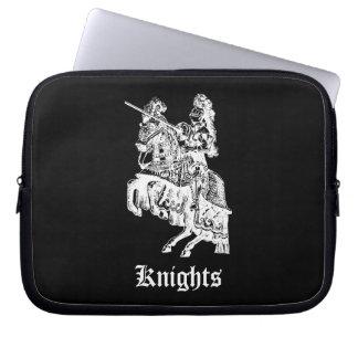 Vintage Knight Illustration Lap Top Sleeve Computer Sleeve