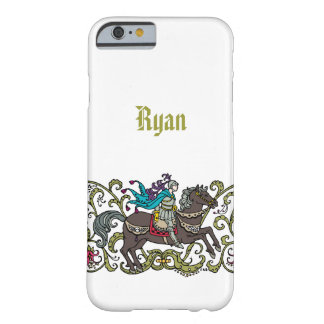 Vintage Knight Personalized Barely There iPhone 6 Case