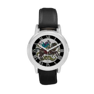 Vintage Knight with Roman Numerals Wristwatch