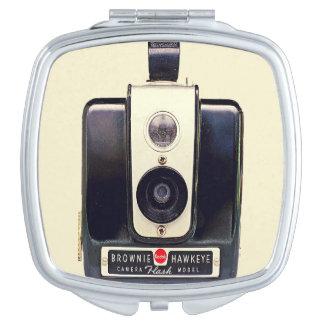 Vintage kodak brownie camera compact mirror