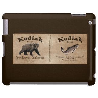 Vintage Kodiak Salmon Label
