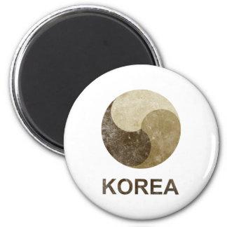 Vintage Korea Magnet