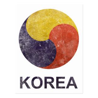 Vintage Korea Postcard